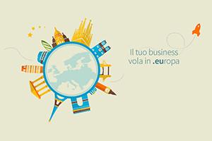 Il tuo business vola in .europa