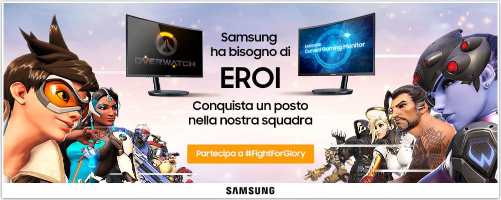 Ayrion samsung chiama a raccolta gli aspiranti pro gamer e for Samsung arena milano