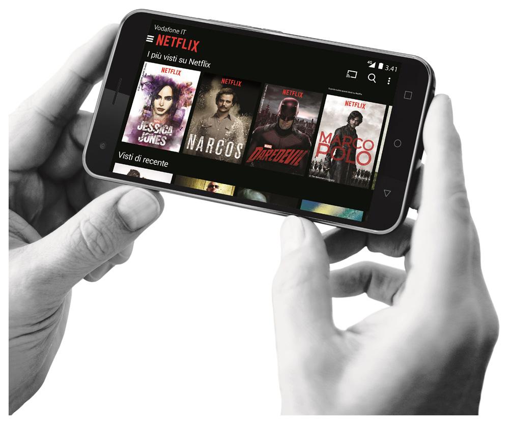 Netflix Vodafone