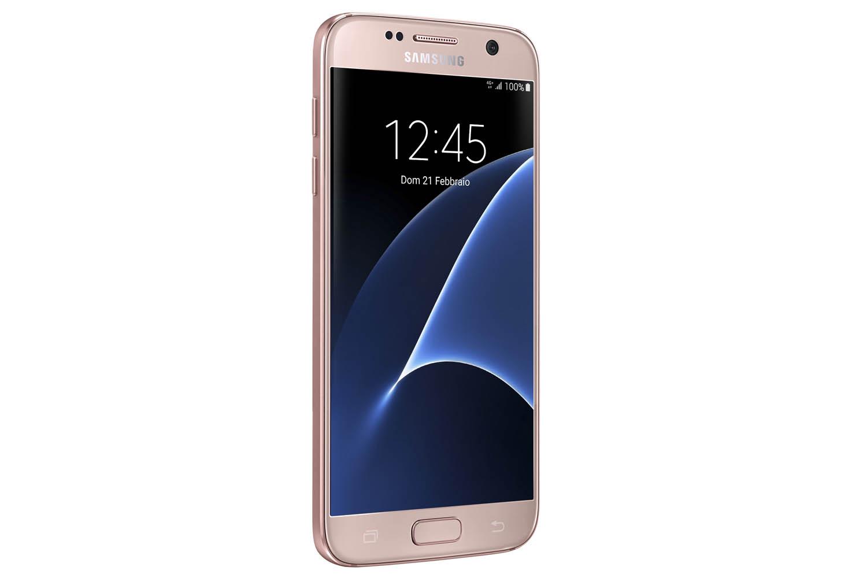 Samsung Galaxy S7 Pink_Angle 1 Lock