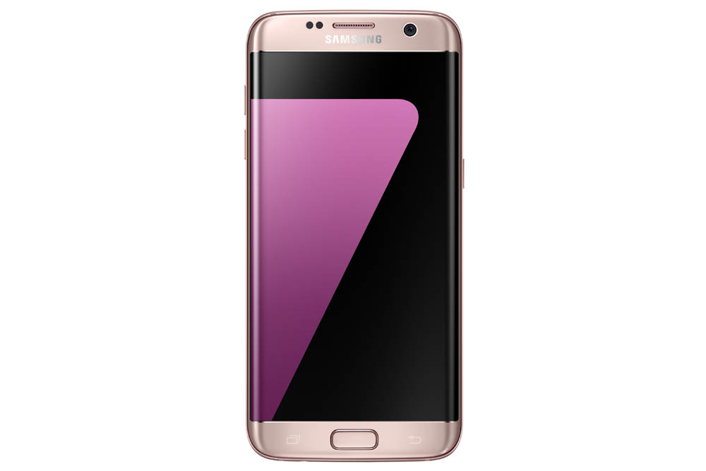 Samsung Galaxy S7 edge Pink_Front